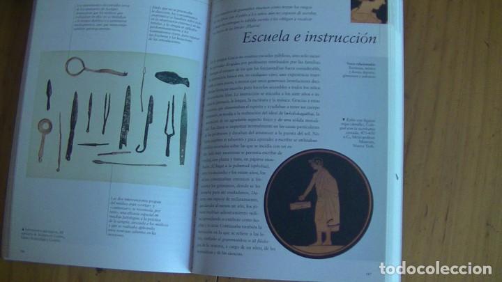 Libros: GRANDES CIVILIZACIONES. LOTE 5 LIBROS: GRECIA-ROMA-EGIPTO-JAPON-CHINA. MONDADORI. 2008 - Foto 2 - 269313498