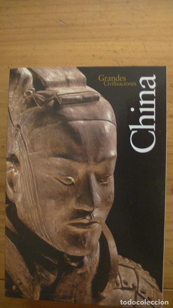 Libros: GRANDES CIVILIZACIONES. LOTE 5 LIBROS: GRECIA-ROMA-EGIPTO-JAPON-CHINA. MONDADORI. 2008 - Foto 4 - 269313498