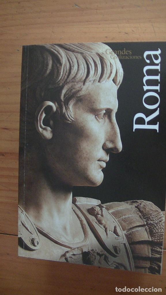Libros: GRANDES CIVILIZACIONES. LOTE 5 LIBROS: GRECIA-ROMA-EGIPTO-JAPON-CHINA. MONDADORI. 2008 - Foto 8 - 269313498
