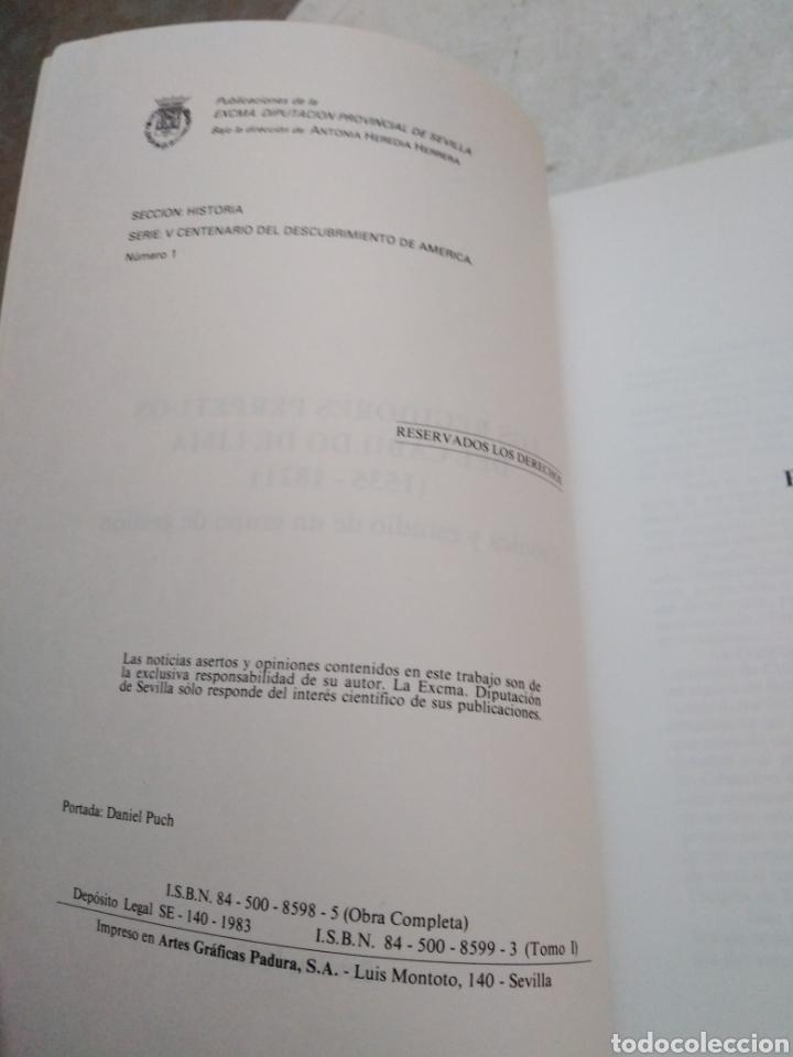 Libros: V centenario del descubrimiento de América ( I y II ) Los regidores perpetuos del cabildo de lima - Foto 4 - 270396433