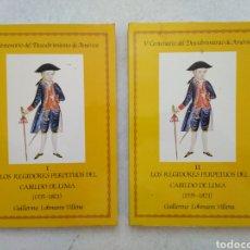 Libros: V CENTENARIO DEL DESCUBRIMIENTO DE AMÉRICA ( I Y II ) LOS REGIDORES PERPETUOS DEL CABILDO DE LIMA. Lote 270396433