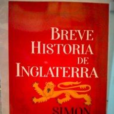 Libros: SIMÓN JENKINS. BREVE HISTORIA DE INGLATERRA .ESFERA DE LOS LIBROS. Lote 270977163