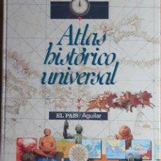 Libros: ATLAS HISTÓRICO UNIVERSAL, ANTIGÜEDAD, EDAD MEDIA,GUERRAS,PERSONAJES HISTÓRICOS.. Lote 272995403