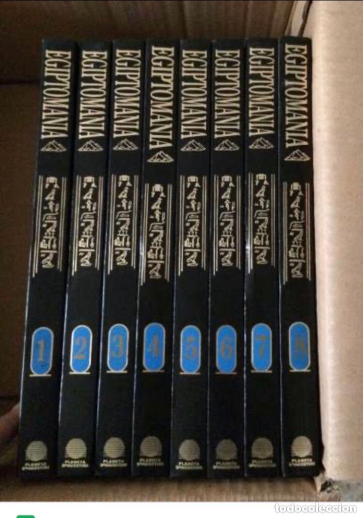 COLECCIÓN COMPLETA EN 8 TOMOS. PLANETA DEAGOSTINI 1997. (96 NÚMEROS)VER FOTOGRAFÍAS EGIPTOMANÍA. (Libros Nuevos - Historia - Historia por países)