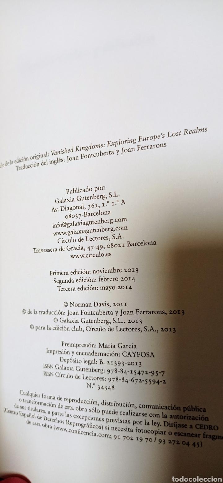 Libros: Reinos desaparecidos. La historia olvidada de Europa, de Norman Davis - Foto 7 - 285299263