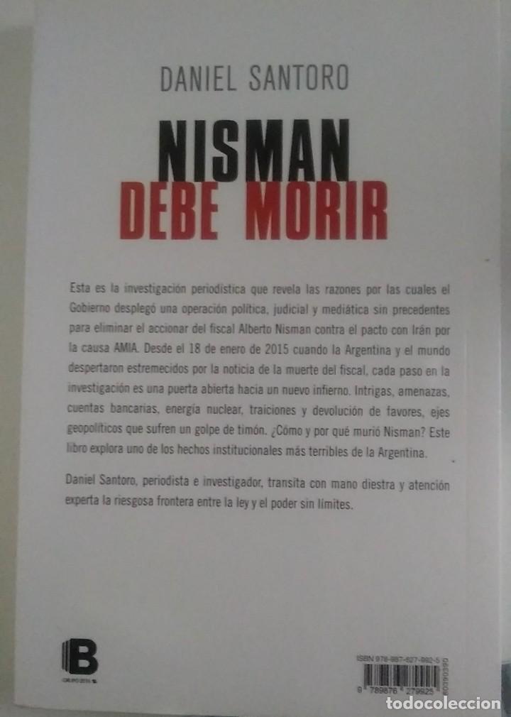 Libros: Nisman debe morir - Foto 2 - 288143478