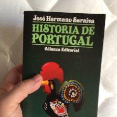 Libros: HISTORIA DE PORTUGAL (JOSÉ HERMANO SARAIVA). Lote 291476438