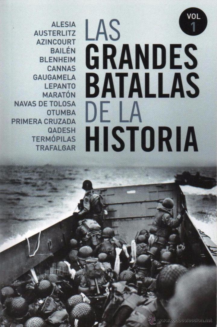 LAS GRANDES BATALLAS DE LA HISTORIA VOL. 1 - PENGUIN RANDOM HOUSE, 2014 (Libros Nuevos - Historia - Historia Universal)