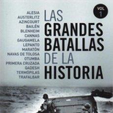Libros: LAS GRANDES BATALLAS DE LA HISTORIA VOL. 1 - PENGUIN RANDOM HOUSE, 2014. Lote 213277712