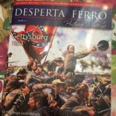 Libros: DOS O MÁS REVISTAS, ENVÍO GRATIS. DESPERTA FERRO HISTORIA MODERNA Nº20 - GETTYSBURG 1863. Lote 280611763
