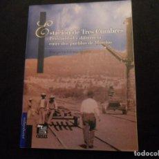 Libros: MEXICO LIBRO ESTACION DE TRES CUMBRES PROXIMIDAD ... DE MORELOS MARGARITA ESTRADA IGUINIZ. Lote 74444811