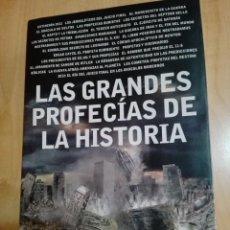 Libros: LAS GRANDES PROFECÍAS DE LA HISTORIA - CANAL HISTORIA - TAPA DURA CON CUBIERTA. Lote 90845300