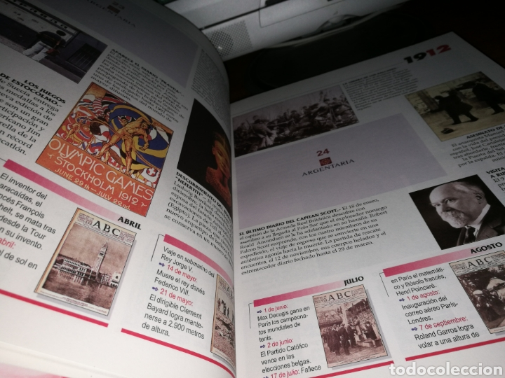 Libros: Libro Historia Gráfica del siglo XX de ABC. Europa - Foto 3 - 91841025