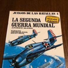 Libros: JUEGO DE LAS BATALLAS 4 LA SEGUNDA GUERRA MUNDIAL. Lote 97608292