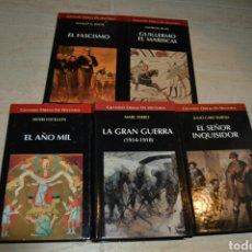 Libros: LOTE DE LIBROS DE HISTORIA TEMÁTICA VARIADA. Lote 103101371