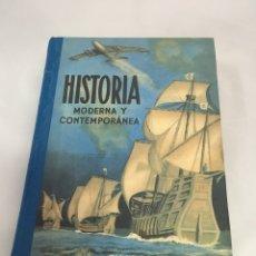 Libros: LIBRO HISTORIA MODERNA Y CONTEMPORÁNEA EDITORIAL LUIS VIVES. Lote 135301074