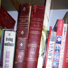 Libros: HISTORIA DE LAS NACIONES (OBRA TRADUCIDA AL CASTELLANO POR GUILLERMO BOLADERES IBERN. Lote 135467502