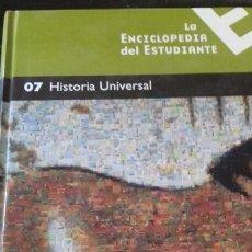 Libros: ENCICLOPEDIA DEL ESTUDIANTE NÚMERO 7 - HISTORIA UNIVERSAL. Lote 147342181