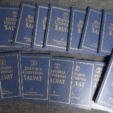 Libros: HISTORIA UNIVERSAL SALVAT. 17 TOMOS. COMPLETA. Lote 147537342