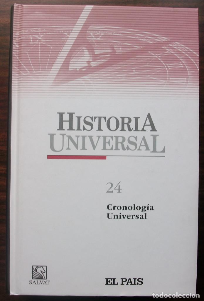 Libros: HISTORIA UNIVERSAL 24 TOMOS. EDITORIAL SALVAT 2004 - Foto 5 - 147767346