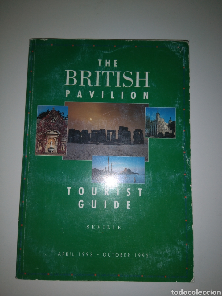 Libros: The British pavilion - Tourist guide - Expo 1992 - Foto 1 - 152206145