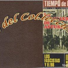 Libros: TIEMPO DE HISTORIA, PRENSA PERIODICA, NS. 1 A 10, ENCUADERNADOS EN 2 TOMOS, 1974 . Lote 155785166
