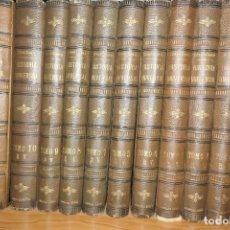 Libros: CESAR CANTÚ, AÑO 1886,HISTORIA UNIVERSAL 12 TOMOS. Lote 159907962