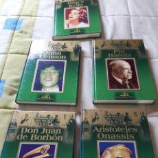 Libros: LIBROS. PERSONAJES FAMOSOS. BIOGRAFIAS. TAPA DURA. Lote 174009844
