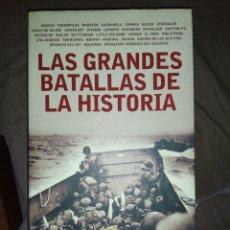 Libros: LAS GRANDES BATALLAS DE LA HISTORIA. Lote 178852592