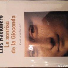 Libros: LA SONRISA DE LA GIOCONDA - LUIS RACIONERO. Lote 179000911