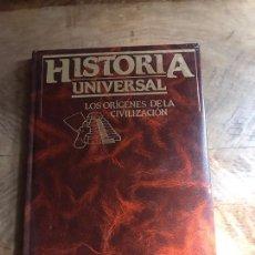 Libros: HISTORIA UNIVERSAL. Lote 180333292