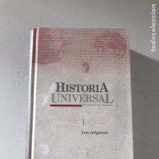 Libros: HISTORIA UNIVERSAL. Lote 180895077