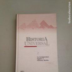 Libros: LIBROS DE HISTORIA UNIVERSAL DOS Y TRES. Lote 181157233