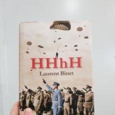 Libros: HHHH - LAURENT BINET. Lote 181337032