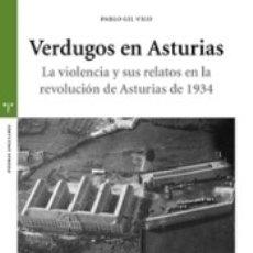 Libros: VERDUGOS DE ASTURIAS. Lote 182593932