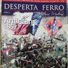 Libros: DOS O MÁS REVISTAS, ENVÍO GRATIS. DESPERTA FERRO HISTORIA MODERNA N. 43. ANTIETAM. Lote 280611818
