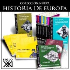 Libros: COLECCIÓN NUEVA HISTORIA DE EUROPA 10 LIBROS - VARIOS AUTORES DESCATALOGADO!!! OFERTA!!!. Lote 190007602