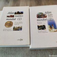 Libri: ATLAS HISTÓRICO MUNDIAL I Y II. HERMANN KINDER, WERMER HILGEMANN. 2000. BUEN ESTADO.. Lote 190794080