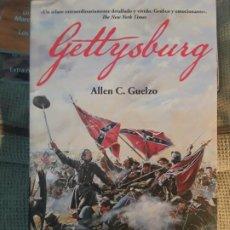 Libros: GETTYSBURG. ALLEN C GUELZO (ED. DESPERTA FERRO). Lote 275960463