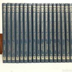 Libros: ENCICLOPEDIA HISTORIA UNIVERSAL SALVAT. Lote 196018945