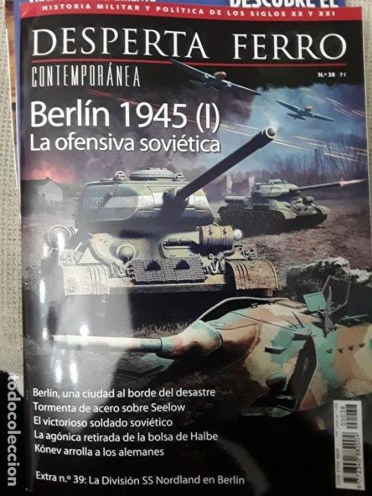 DOS O MAS REVISTAS, ENVÍO GRATIS. DESPERTA FERRO CONTEMP.38. BERLÍN 1945 (I) LA OFENSIVA SOVIÉTICA (Libros Nuevos - Historia - Historia Universal)