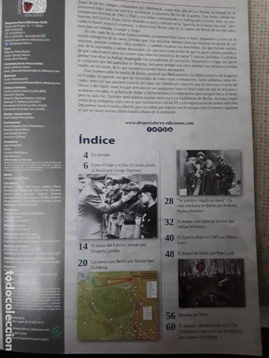 Libros: DOS O MAS REVISTAS, ENVÍO GRATIS. Desperta Ferro contemp.38. Berlín 1945 (I) la ofensiva soviética - Foto 3 - 276155423