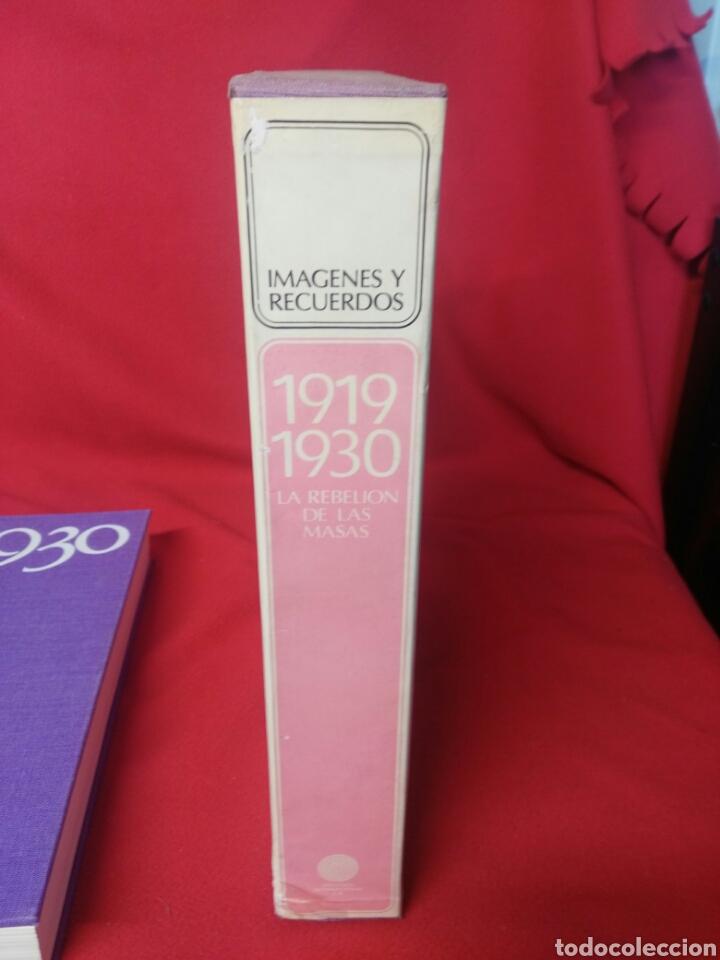 Libros: IMAGENES Y RECUERDOS 1919/1930 LA REBELION DE LAS MASAS - Foto 3 - 199995107