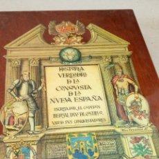 Libros: LIBRO HISRORIA VERDADRA D LA CONQUISTA D LA NUEVA ESPAÑA ESCRITA PORVEL CAPITAN BERNAL DEL CASTILLO. Lote 204760845