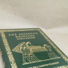 Libros: LIBRO LOS ANTIGUOS EGIPCIOS Y SUS COSTUMBRES PO SIRJ WILKILSON. Lote 204777361