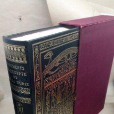 Libros: LIBRO MONUMENTOS DE EGIPTO Y NUBIA. Lote 204978607