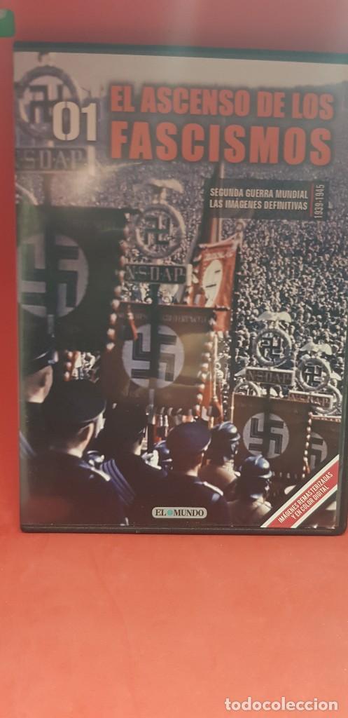 Libros: DVD+ LIBRO 01-EL ASCENSO DE LOS FASCISMOS-II GUERRA MUNDIAL-LAS IMAGENES DEFINITIVAS - Foto 3 - 206278626