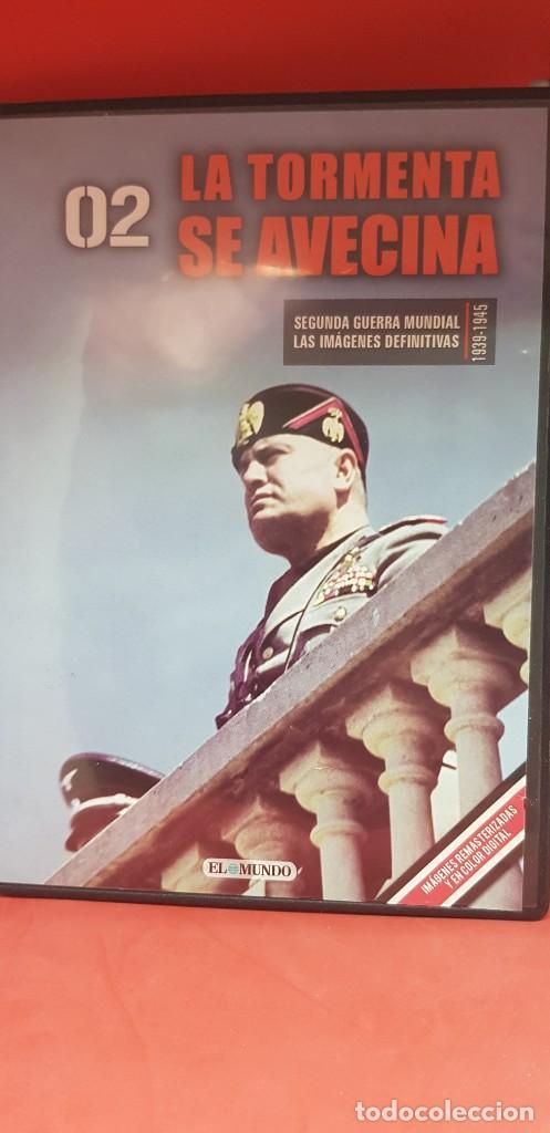 Libros: (DVD+ LIBRO 02) LA TORMENTA SE AVECINA -HITLER APLASTA POLONIA- II GUERRA MUNDIAL - Foto 2 - 206278860