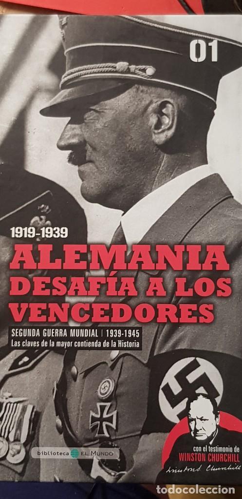 DVD+ LIBRO 01-EL ASCENSO DE LOS FASCISMOS-II GUERRA MUNDIAL-LAS IMAGENES DEFINITIVAS (Libros Nuevos - Historia - Historia Universal)