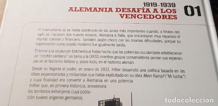 Libros: DVD+ LIBRO 01-EL ASCENSO DE LOS FASCISMOS-II GUERRA MUNDIAL-LAS IMAGENES DEFINITIVAS - Foto 10 - 206278626